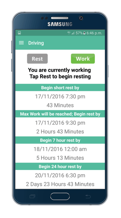 Work Diary Mate for Mobile (Android)